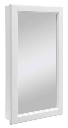 Design House Wyndham 16 In W Single Door Mirrored Medicine Cabinet
