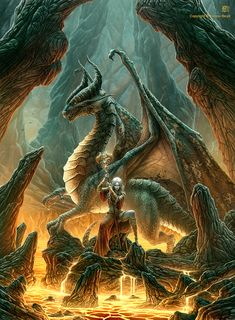 Dragon Mage by *kerembeyit on deviantART