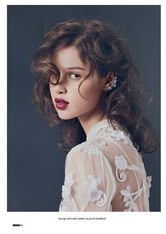 Til It Shines | Anais Pouliot by Damon Heath for Lula Issue 12, Spring/Summer 2011 #beauty