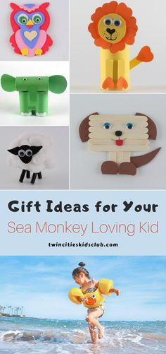 "Twin Cities Kids Club Blogs: Gift Ideas for Your Sea Monkey Loving Kid - When you buy sea monkeys, you are purchasing their eggs which resemble a powder or ""magic dust"" to the sea monkey loving kid in your life. The sea monkeys are a dry powder because of cryptobiosis, or a state of suspended animation. #kids #games #fungames #kidsactivities #gameday #giftideasforkids #giftideas #seamonkey #seamonkeylovingkids #funtimes"