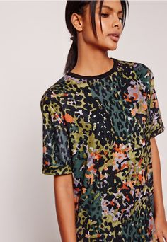 For effortless chic, try this kick ass camo print beaut on for size!