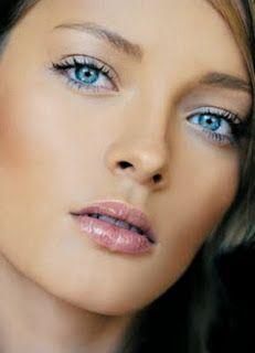 pastel eye shadow , pretty look