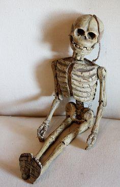 Antique Marionette Skeleton Puppet 19th C.