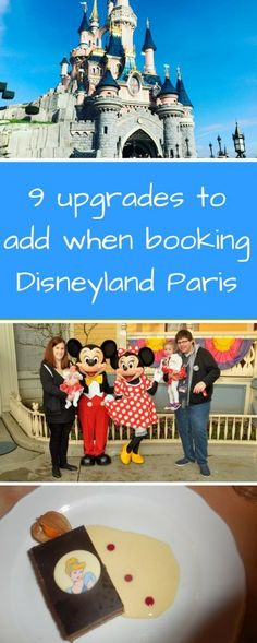 9 upgrades to add when booking Disneyland Paris