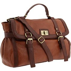 i have an unhealthy obsession with brown satchels