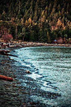 Sandwell Beach, Gabriola Island | Canada (by Orbittrap)