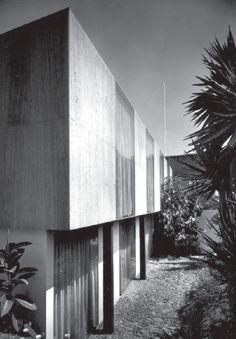 Casa Torres, Reforma 20, San Ángel, México DF 1961 Arq. Ramón Torres y Héctor Velázquez Foto: Guillermo Zamora