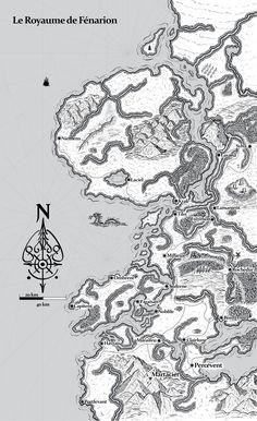 ArtStation - Le Royaume de Fénarion, Ronan Salieri Writing Fantasy, Fantasy World, Building, Artwork, Gaming, Work Of Art, Auguste Rodin Artwork, Buildings, Artworks