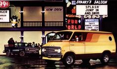 Custom Dodge Van, 1970s lmao!