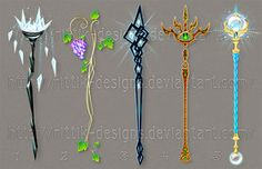 Staff designs 30 by Rittik-Designs