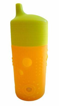 Amazon.com: Silikids Siliskin Glass Sippy Cup, Tart, 12 Months: Baby