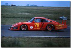 Gianpiero Moretti / Mauro Baldi Momo Porsche 935/78 Moby Dick 1982 Silverstone 1000km by Antsphoto, via Flickr