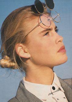 'Menswear classics loosen up in soft suits.' (1989) #seventeen