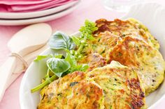 Courgette fritters – Recipes – Bite