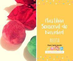 Plastilina Sensorial de Navidad - Christmas Play dough Grapefruit, Diy, Food, Sensory Activities, Play Dough, Clay, Homemade, How To Make, Xmas