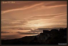 Pallido e sereno tramonto di Maggio - 2016 by agostinodascoli