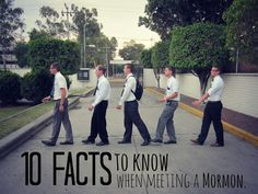 10 Facts to know when meeting a Mormon  This Mormon pin is loved at www.MormonLink.com