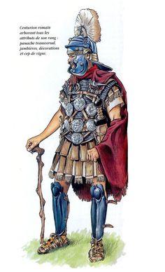 Римский центурион, конец I века н.э.