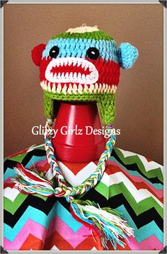 Super adorable fall/winter crochet animal by GlitzyGirlzDesigns, $25.00 Yarn Inspiration, Photo Accessories, Crochet Animals, Elf, Fall Winter, Christmas Ornaments, Trending Outfits, Holiday Decor, Unique Jewelry
