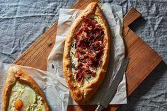 Crispy Prosciutto-Rosemary Khachapuri (Georgian Cheese Bread)