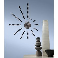 View the York Wallcoverings RMK2395CLK RoomMates Morse Code Clock Peel & Stick Wall Decals at Build.com.