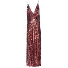 Tom Ford - Sequin-embellished gown - Tom Ford knows how to make a woman feel alluring - this dress is the proof. Dripping in bronze-tone sequins, it's an absolutely dazzling piece that ensures all eyes will be on you. With a sparkling dress like this, it's best to keep your accessories to a minimum - just a pair of killer heels. seen @ www.mytheresa.com