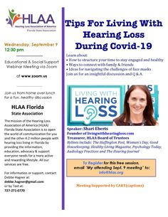 Tips For Living With Hearing Loss During Covid-19 National Board, Psychology Today, Encouragement, Coast, Education, Learning, Tips, Studying, Teaching