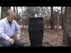 Pebble Pot Fountain - YouTube
