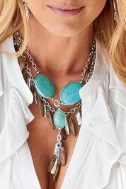 Turquoise necklace <3