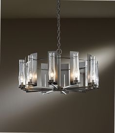 "Hubbardton Forge 103290 New Town 30"" Wide Chandelier Lighting - HUB-103290"