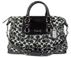 a3f69e03e8f3 Coach Signature Large Ashley Sateen Satchel Convertible Bag - got this for  my sweet little sister awwww
