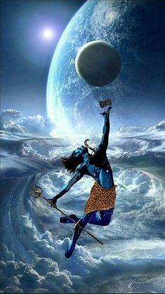 Lord Shiva Dance On Universe With Damru - Images Of Mahadev Shiva Tandav, Rudra Shiva, Aghori Shiva, Photos Of Lord Shiva, Lord Shiva Hd Images, Lord Shiva Hd Wallpaper, Lord Vishnu Wallpapers, Ganesh Wallpaper, Angry Lord Shiva