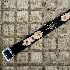 8778f78e9207 Canyonero Belts  studded jeweled belt Plata Antigua