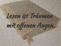 Dreaming With Eyes Open Alverna Verlag  C B Zitate Und Spruche Zum Thema Lesen
