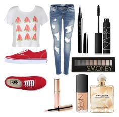 """""""Untitled #7"""" by kartseva-ana on Polyvore featuring Ally Fashion, Vans, Marc Jacobs, By Terry, Forever 21, NARS Cosmetics and Sarah Jessica Parker"""