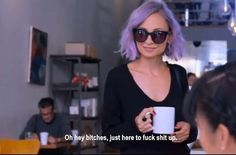 Nicole Richie on Candidly Nicole. She is my favorite person ever