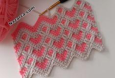 Crochet Afghans, Crochet Cushions, Crochet Stitches Patterns, Baby Knitting Patterns, Baby Blanket Crochet, Knit Crochet, Crochet World, Crochet Baby Clothes, Sgraffito
