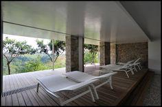 Holiday Resort Hapimag Tonda Italy  #bauzeitarchitekten #resort #hotel #renovation #spa #swiss #architecture Holiday Resort, Outdoor Furniture, Outdoor Decor, Sun Lounger, Italy, Architecture, Home Decor, Arquitetura, Chaise Longue