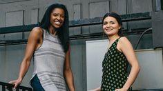Women of 'Hamilton'  Renee Elise Goldsberry and Phillipa Soo