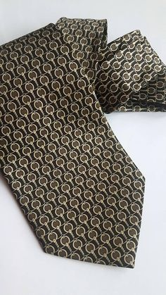 Vintage Silk Tie René Chagal