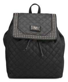 8c4353989d297f Look at this #zulilyfind! Black Medusa Backpack #zulilyfinds Medusa, Leather  Backpack,