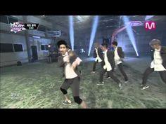 EXO_으르렁 (Growl by EXO@Mcountdown 2013.8.1) - YouTube
