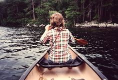 Oh, to set sail with a paddle and a canoe on a coastal inlet . . .