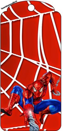 Spiderman: Free Party Printables and Images. Check out the whole set! :)