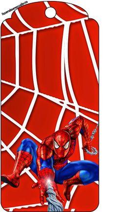 Spiderman: Imprimibles para Fiesta para Imprimir Gratis. - Ideas y material gratis para fiestas y celebraciones Oh My Fiesta!