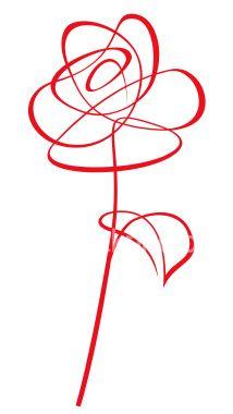 7cafa52ef35e66 Rose Royalty Free Stock Vector Art Illustration Rose Line Art
