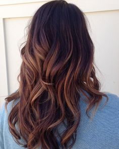 Orange and Red Highlights