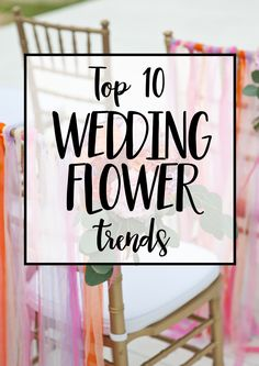 Wedding flower trends 2016/17 - learn about the most popular centre piece &  brides bouquet flower styles & how you can recreate them for your wedding, either with the help of a florist or DIY if it's a budget wedding