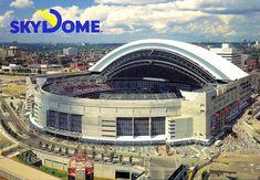 The Rogers Centre former SkyDome Sports Stadium, Stadium Tour, Toronto Architecture, Rogers Centre, Toronto Photos, Tropical Beaches, Washington Nationals, Toronto Blue Jays, San Francisco Giants