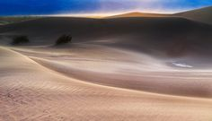 Death Valley National Park, California, USA  Eureka Dunes by coulombic